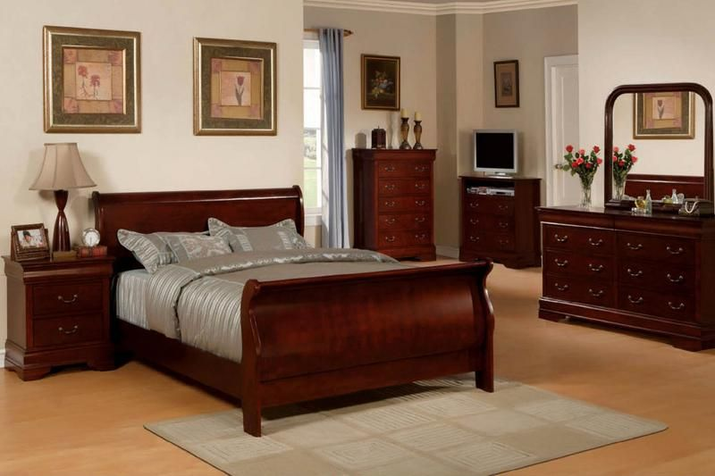 solid cherry wood bedroom furniture | Cherry wood bedroom .
