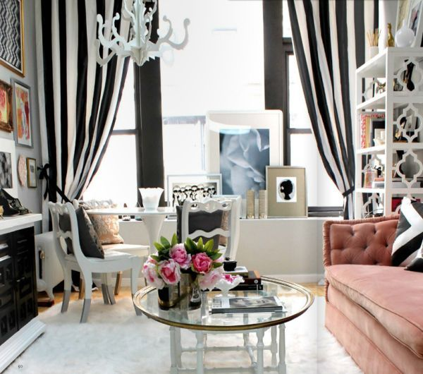 Decorating A Black & White Office: Ideas & Inspiration | House and .