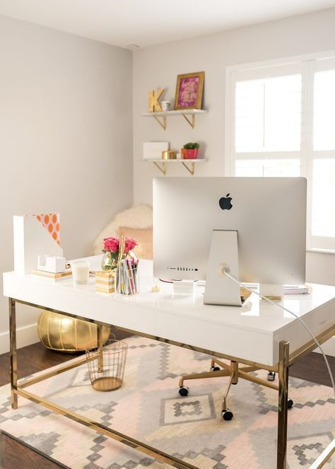 Here are some ideas and office essentials for a modern, chic .