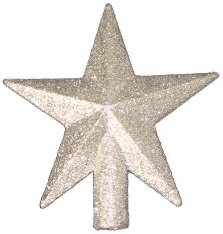 "Amazon.com: Kurt Adler 4"" Petite Treasures Silver Glittered Mini ."