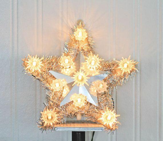 Star Tree Topper Christmas Tree Star Kodak Light Up Tree | Etsy .