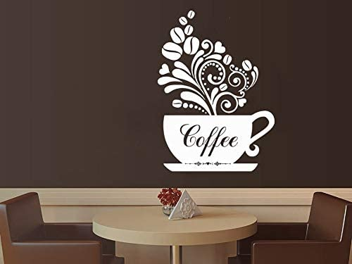 Amazon.com: Kitchen Coffee Wall Decals Décor - Coffee Themed Wall .
