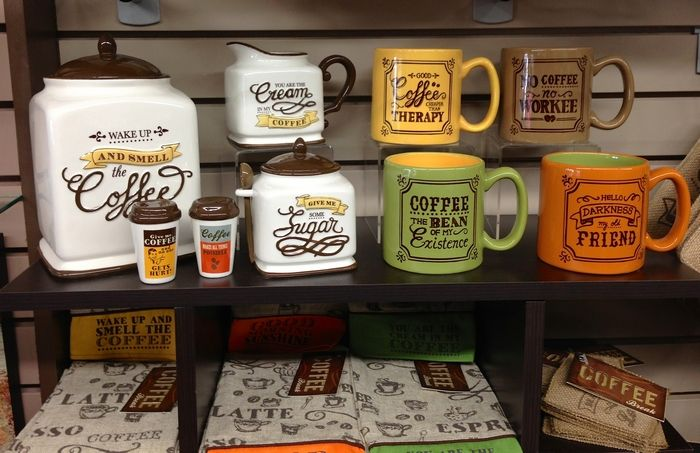 Coffee Themed Kitchen Decor Ideas | Coffee decor kitchen, Kitchen .