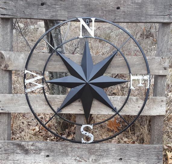 Compass Wall Decor