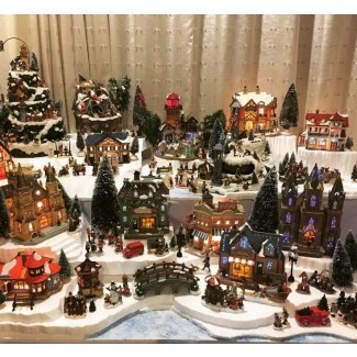 50+ Complete Christmas Village Sets You'll Love in 2020 - Visual .