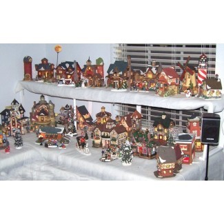 50+ Complete Christmas Village Sets You'll Love in 2020 - Visual Hu