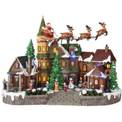 Indoor Tabletop Decor - Christmas Villages Sets - Christmas .