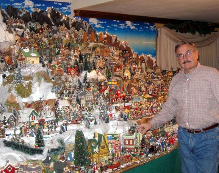 70 Best Christmas Villages Images On Pinterest | Christmas .