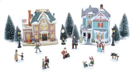 Complete Christmas Village Sets