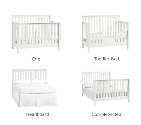 Kendall 4-in-1 Convertible Crib | Baby Crib | Pottery Barn Ki