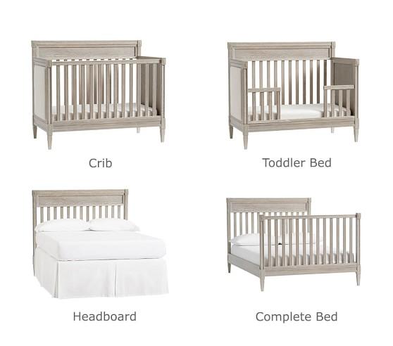 Graham 4-in-1 Convertible Crib | Baby Crib | Pottery Barn Ki
