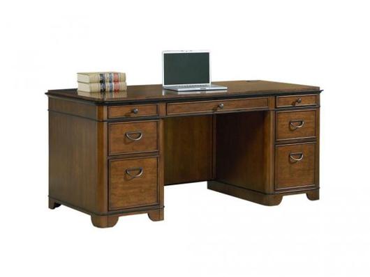 Kathy Credenza Desk | Walker Furniture & Mattress Las Veg