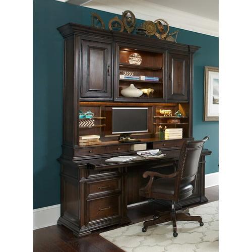 "I91318 in by Aspen Furniture in Helena, MT - 74"" Credenza Desk w ."
