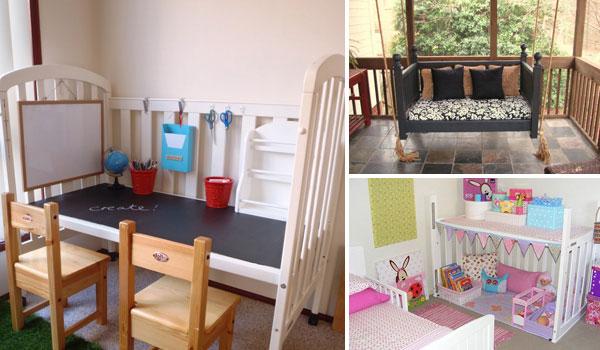 Top 30 Fabulous Ideas To Repurpose Old Cribs - Amazing DIY .