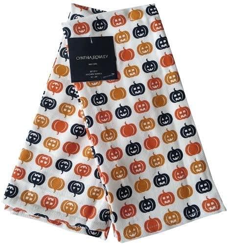 Amazon.com: Cynthia Rowley Home Decor Kitchen Towel Set, Fall .