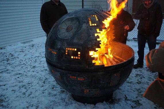 6 ft Death Star fire Pit   Et