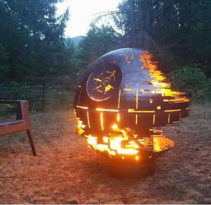 Death star fire pit : Damnthatsinteresti
