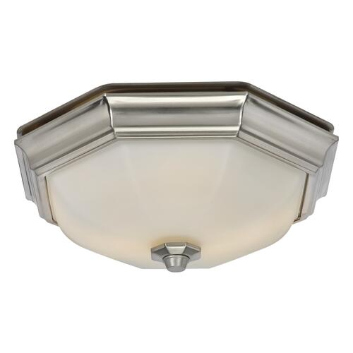 Huntley Decorative Bathroom Exhaust Fan with LED Light at Menards