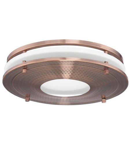 Decorative Hammered Copper Bath Exhaust Fan Retrofit Kit, Vent .