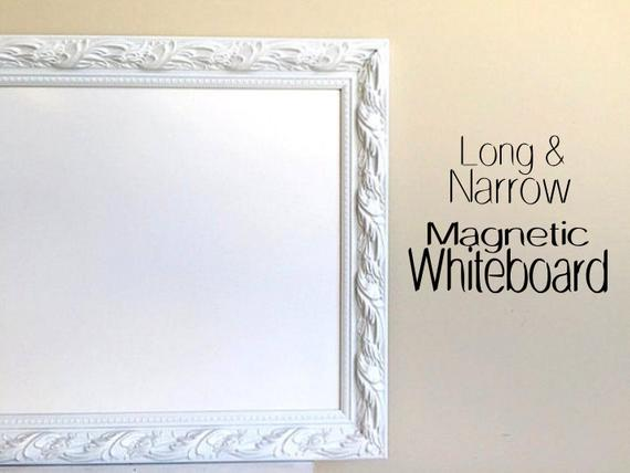 Decorative DRY ERASE BOARD for Sale Whiteboard Narrow Tall | Et