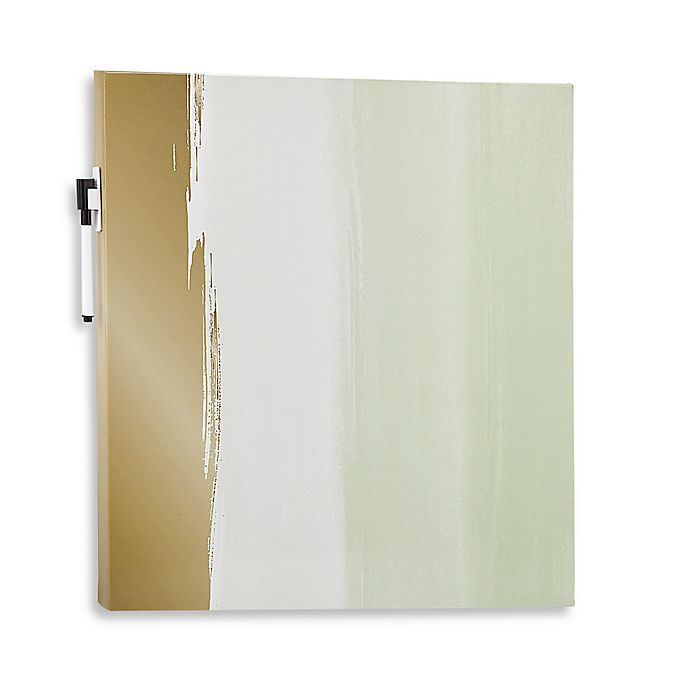 Canvas Decorative Dry Erase Board in Watercolor | Bed Bath & Beyo