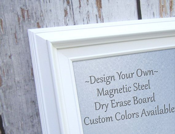 MAGNET BOARDS for Sale Decorative White Framed Magnetic Board Dry .
