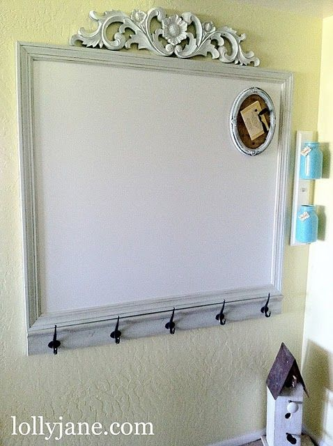 Just Something I Whipped Up + Features - | Home diy, White board .