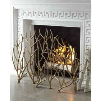 Decorative Fireplace Screens Wrought Iron - Ideas on Fot