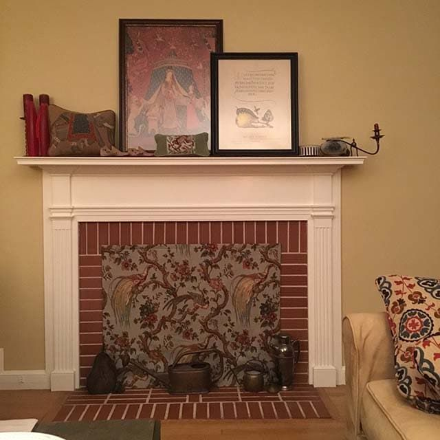 Decorative Fireplace Covers look great - Insulated Decorative .
