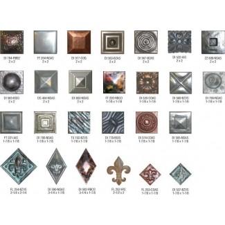 Metal Tile Inserts - Ideas on Fot