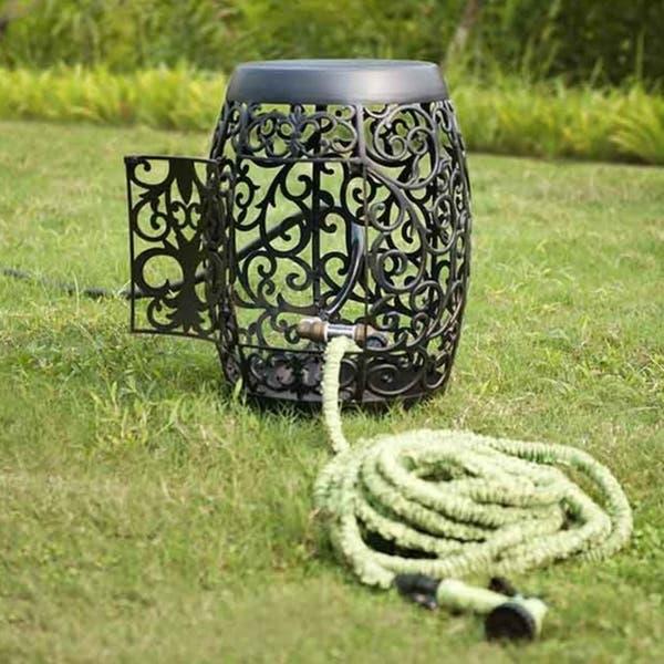 Shop Sunjoy Garden Hose Holder - Overstock - 158084