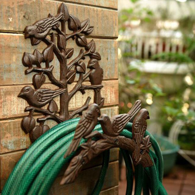 Heavy Duty Cast Iron Hose Holder,Garden & Yard Decorative Wall .