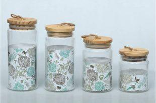 24oz 34oz 40oz 47oz decorative glass jars glass containers with .
