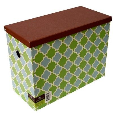 Target : Greenroom Recycled File Box with Hanging Files | File box .