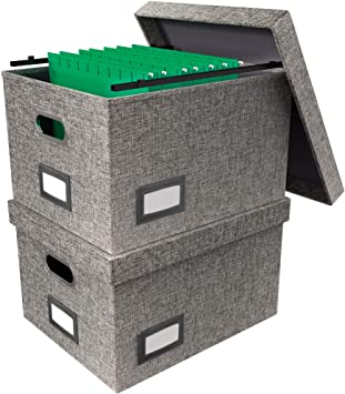 Decorative Hanging File Boxes