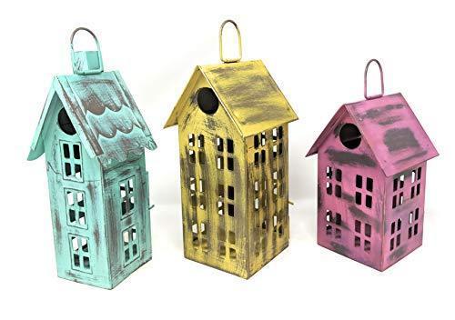 Metal Bird House Decor | Decorative Bird Houses for Indoor or .