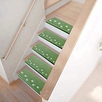 Amazon.com: Yosooo Stair Tread Carpet Mat 5Pcs Indoor Luminous .