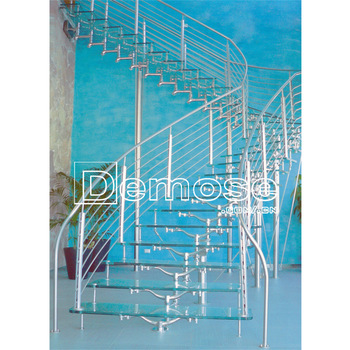 Acrylic Decorative Indoor Tempered Glass Stair Treads Panels - Buy .