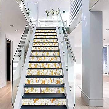 Amazon.com: Self-Adhesive Floor Step Pasting Poster House .