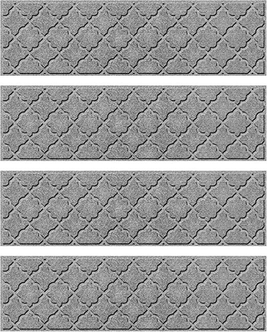 Amazon.com: Bungalow Flooring Waterhog Stair Treads, Set of 4, 8-1 .