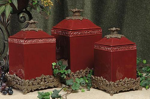 Decorative kitchen canister sets | | Kitchen ide