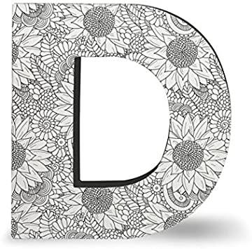 Amazon.com : DCI Color Joy Alphabet Letter, Block Letter D, Wall .