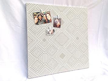 Amazon.com : Fabric Magnetic Board/Magnetic Bulletin Board/Modern .