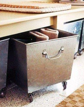 Decorative Metal Storage Bins - Ideas on Fot