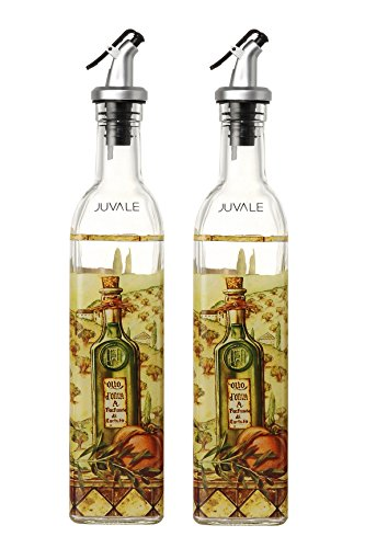 Olive Oil and Vinegar Dispensers - Oil and Vinegar Bottles with .