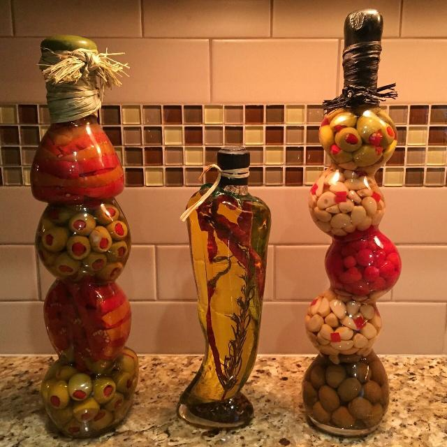 Best Decorative Oil And Vinegar Bottle Set for sale in Victoria .