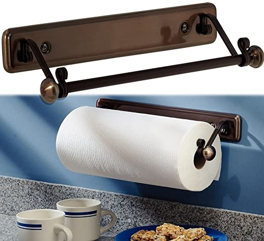 Amazon.com: New York Series Kitchen Wall-mount Paper Towel Holder .