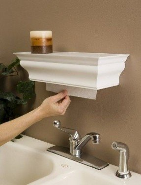Decorative Paper Towel Holders - Ideas on Fot