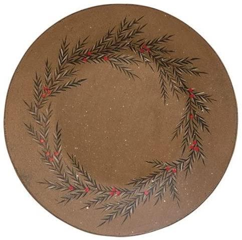 Amazon.com   Decorative Plates Pine Wreath Plate American as Apple .