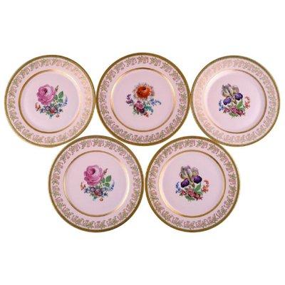 Decorative Plates in Porcelain by Johann Haviland Bavaria, Germany .